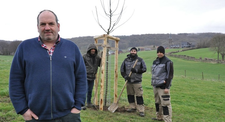 20200224 Luc Hollands Fruitbomen Hitte