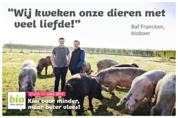 Biovlees Campagne Raf Francken Web