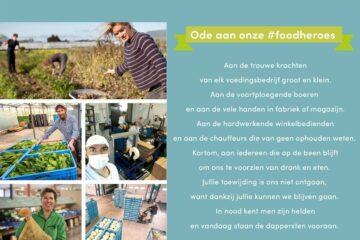 Tim Vandewiele bij bioboerderij 't Goed ter Heule