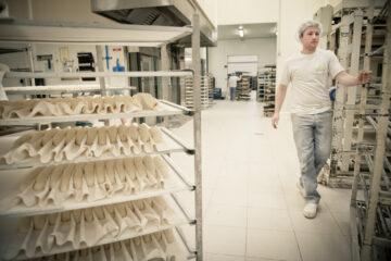 Joachim Dewilde bij Biobakkerij De Trog