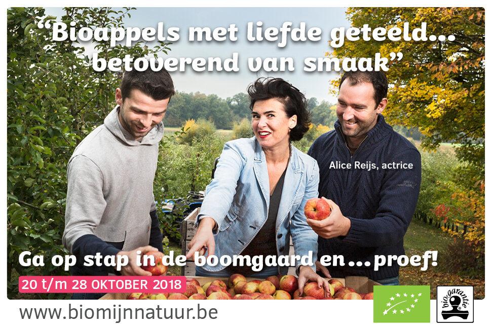 Alice Reijs bezocht de boomgaard van Bert en Jef Janssens