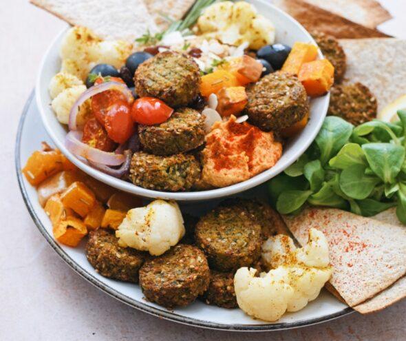 2020 01 La Vieest Belle Mediterraanse Falafel Salade