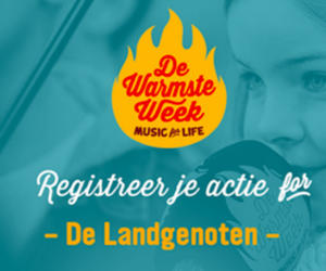 De Landgenoten Warmste Week December 2017